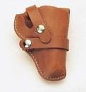 Quality Russet Leather Holster Quality russet leather holster used by the pros. Fits 6-shooter.